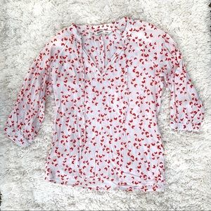 Old Navy Butterfly Blouse